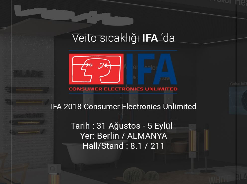 IFA 2018 Consumer Electronics Unlimited